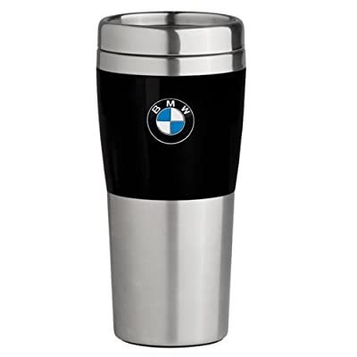 BMW Travel Mug with Black Band - 14oz