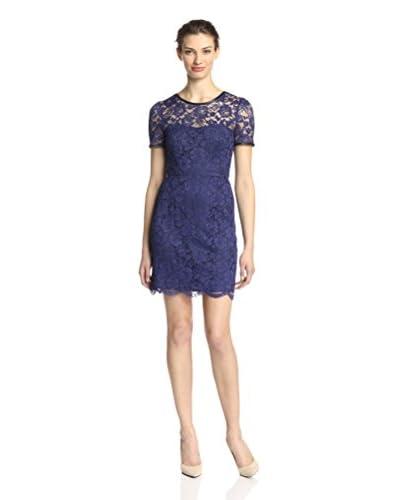 A.B.S. by Allen Schwartz Women's Scalloped Lace Dress