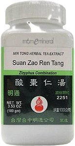 Suan Zao Ren Tang 100 gms by Min Tong