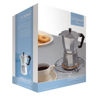 KitchenCraft Le'Xpress 12-Cup Stovetop Espresso Makluminium from Kitchen Craft
