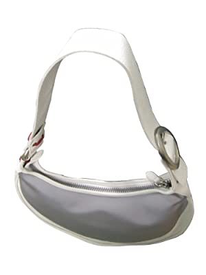 Locman LOCMAN: LARGE WHITE LADIES BAG