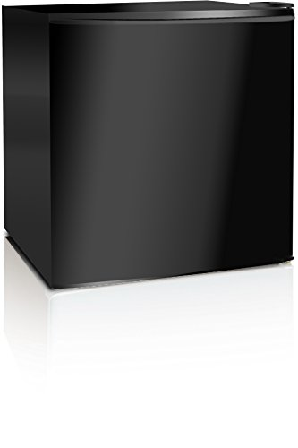 Midea WHS-65LB1 Compact Single Reversible Door Refrigerator and Freezer, 1.6 Cubic Feet, Black