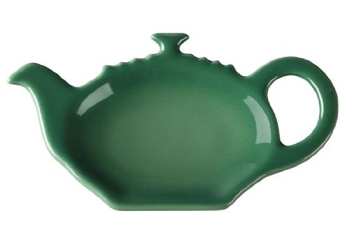 Best Review Of Le Creuset Stoneware Tea Bag Holder, Fennel