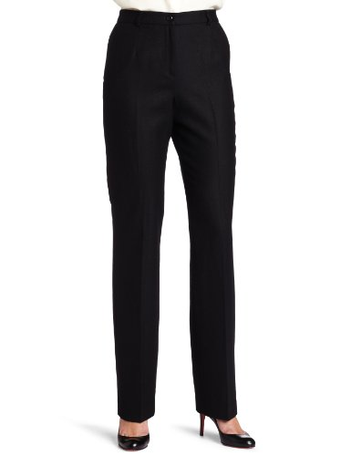 Pendleton Women's Petite Flannel True Fit Trousers, Grey Mix Worsted, 2