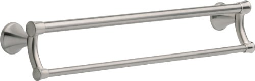 Delta Faucet 41419-SS Transitional Towel Bar/Assist Bar, 24-Inch, Stainless