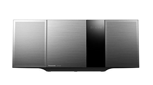 Panasonic SC-HC397EG-K Design Micro HiFi System (LincsD-Amp Digitalverstärker, Smartphone-Kopplung, NFC, Bluetooth, 40 Watt, USB, UKW und Digitalradio, Nano Bambus Lautsprecher) schwarz