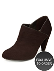 M&S Collection Stiletto High Heel Panelled Shoe Boots