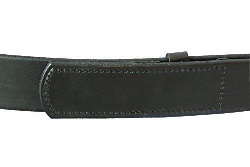 "The Original Musicians Belt, No Scratch, Genuine Leather, 1.5"", Black, 42"