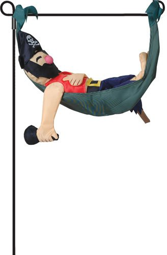 Premier Kites 59143 Garden Charm, Pete The Pirate, 17-Inch front-87601
