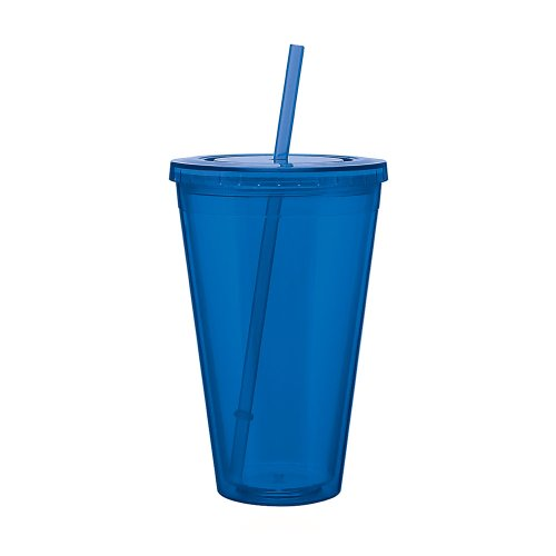 Drink Cup With Straw front-393445
