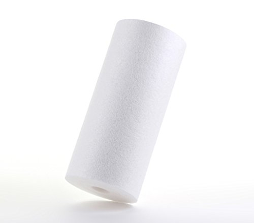 """Hydronix SDC-45-1005 Whole House or Commercial NSF Polypropylene Sediment Water Filter Cartridge, 5 micron, 4.5"""" x 10"""""""