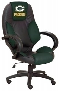 Green Bay Packers Commissioner Executive Highback Office Chair at Amazon.com