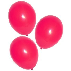 "11"" Latex Ruby Red Balloons (144 pcs)"