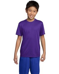 Sport-Tek - Youth Competitor Tee. Yst350 - Purple_S front-655867