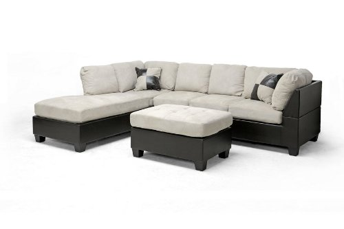 Mancini 3-Pc Sectional Sofa Set by Wholesale Inter