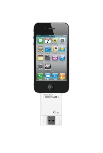 PhotoFast i-FlashDrive HD  iデバイス対応USBメモリ PH-IFHD8G