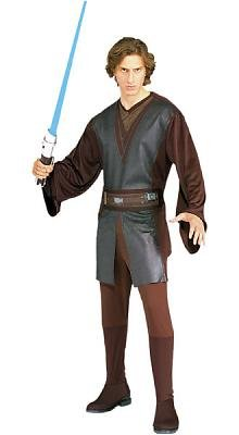 Standard Anakin Skywalker Adult Costume - Size XL - Fits Jacket Size 44-46