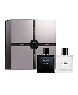 Bleu de Chanel Boldly Unexpected Gift Set for Men (3.4 FL OZ EDT Spray and After Shave Lotion)