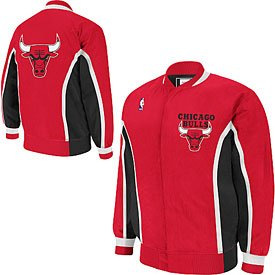 Chicago Bulls 1992 1993 Authentic Warmup Jacket by Wrigleyville Sports