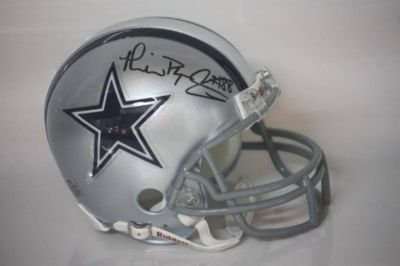 Best Michael Irvin Autographed Mini Helmet - Authentic - Autographed NFL Mini Helmets With Low Price.