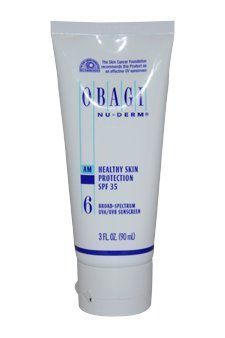 Obagi Nu-Derm #6 Am Healthy Skin Protection Spf#35 3 Oz. Sunscreen Women