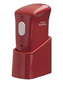 FoodSaver FSFRSH0060-035 FreshSaver Handheld Vacuum Sealer with Starter Kit, Red by Jarden Consumer Solutions