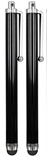 twin-pack-black-high-quality-stylus-touch-pens-for-all-touch-screen-apple-ipadsipad-minimobile-phone