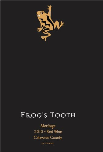 2010 Frog'S Tooth Calaveras County Meritage Red Blend 750 Ml