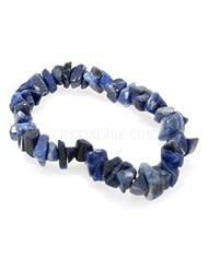 Sodalite Gemstone Chip Bracelet