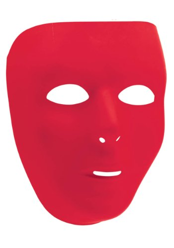 Red Full Face Mask (Standard) - 1
