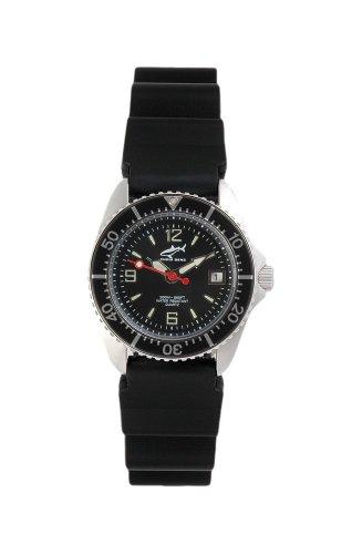 Chris Benz One Lady CBL-S-SW-KB Reloj elegante para mujeres Reloj de Buceo