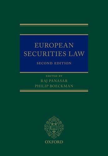 European Securities Law