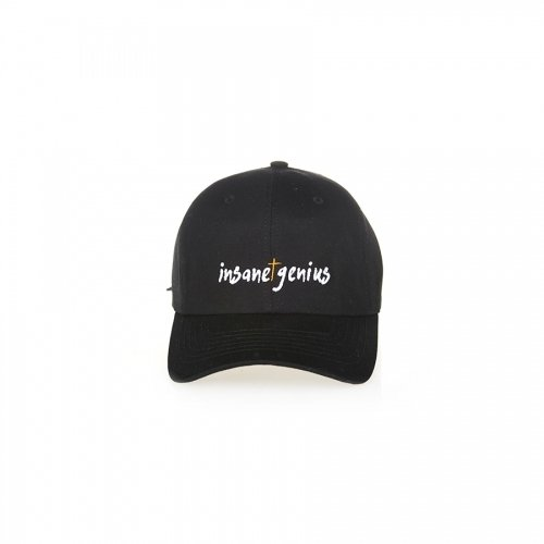 INSANE GENIUS Ball Cap [BLK]