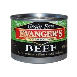 Evanger's Grain Free Beef - 24x6 oz