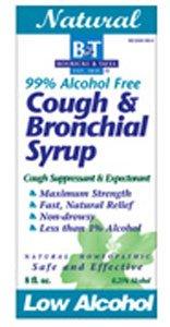 Cough & Bronchial (Alcohol Free) 8 Oz Boericke & Tafel