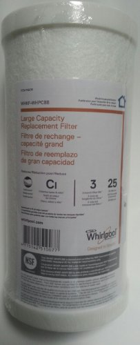 Whirlpool WHKF-WHPCBB Large Capacity Whole House Filter 149016 Carbon (Whole House Water Filter Charcoal compare prices)