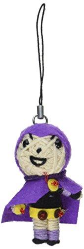 Teen Titans Dolls DC Comics Raven String Doll Keychain