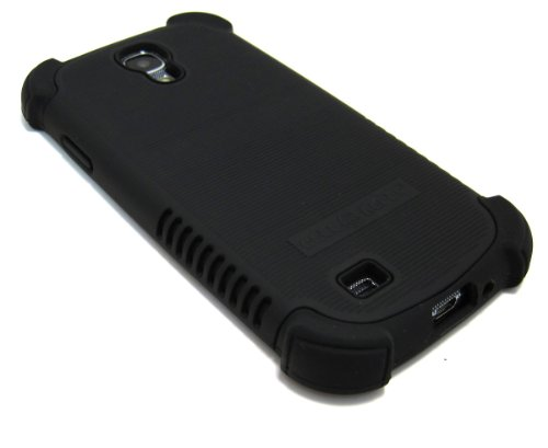 Cell-Nerds Nerdshield Grip Case Cover For The Samsung Galaxy S4 - Cell-Nerds Packaging (Black)