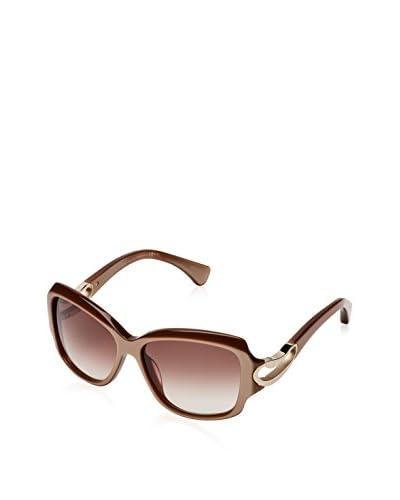 Alexander McQueen Gafas de Sol AMQ 4215/S Woman Marrón