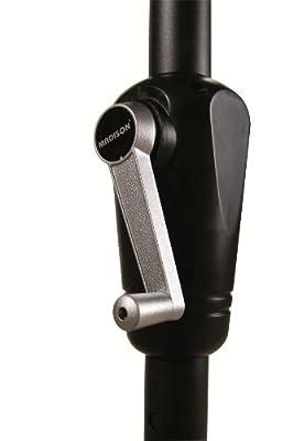 Madison Kurbelschirm Santorini 300x200 taupe - greige mit UV-Schutz 40 Plus von Madison - Gartenmöbel von Du und Dein Garten