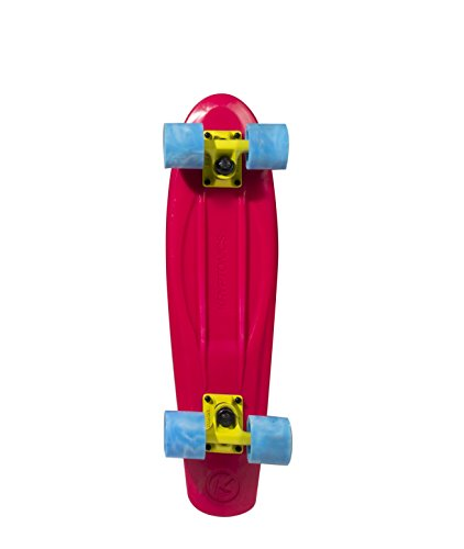 Kryptonic Kryptonic Torpedo Sky Skateboard Retro Color, Sky Blue, 22'5""