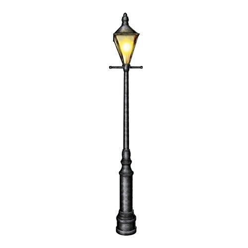 Beistle-57789-Cardstock-Jointed-Lamppost-6-Feet