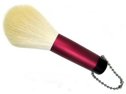 洗顔ブラシ レッド PBT抗菌剤入り 熊野筆 宮尾産業化粧筆 メイクブラシ MPシリーズ 2ー2