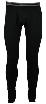 Mens Wolsey Athletic Thermal Ski Cotton Long Johns Underwear Baselayers (Black) 2XL