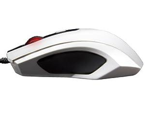 OZONE Xenon 3500DPI Ambidextrous Optical USB Gaming Mouse White XENON WT