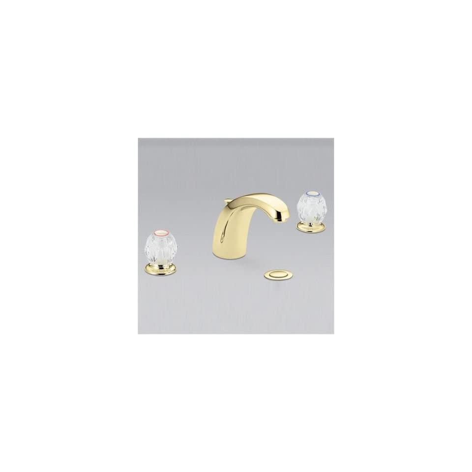 Bundle 11 Chateau Widespread Bathroom Faucet with Double Knob Handles (Set of 4) Finish Chrome