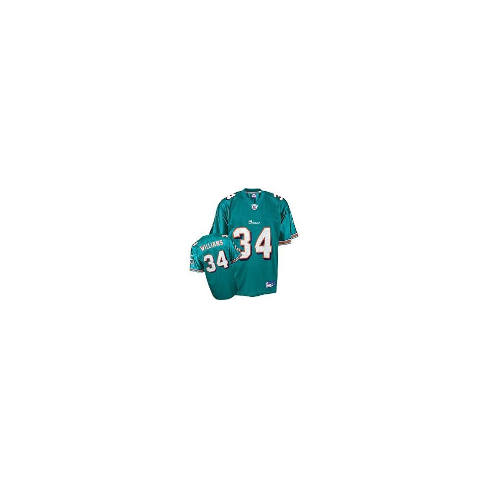 Reebok Miami Dolphins Ricky Williams Youth (8 20) Replica Jersey Large 33d2cb721