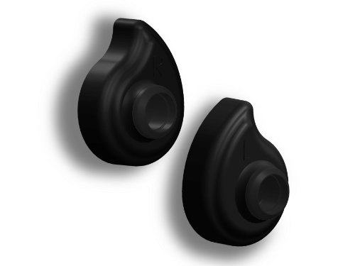 Black Custom Molded Earbud Adapters Bz200