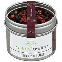 Zauber der Gewuerze Pfeffer deluxe, 55g von Zauber der Gewuerze GmbH bei Gewürze Shop