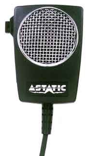 Astatic (302-10005) D104M6B Amplified Ceramic Power 4-Pin Cb Microphone